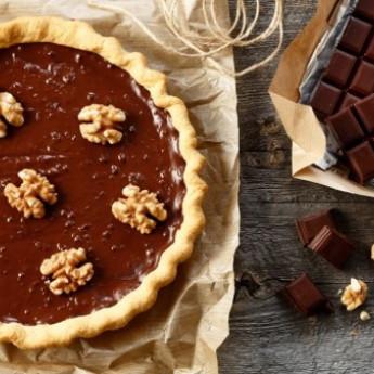 Tarte d'automne à la crème de marrons chocolat